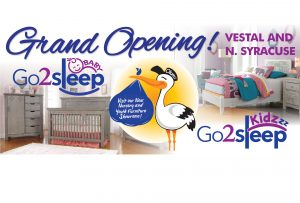 Go2sleep Kidz and Go2sleep Baby Grand Opening in Vestal and North Syracuse