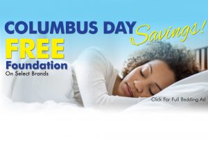 Columbus Day Savings Free Foundation